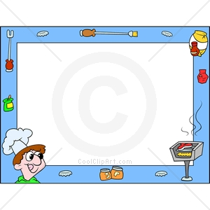 Com   Clip Art For  Borders Barbecue Cookout   Image Id 139014