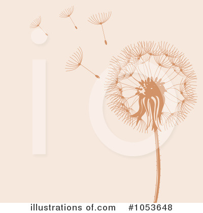 Dandelion Clipart  1053648   Illustration By Pushkin