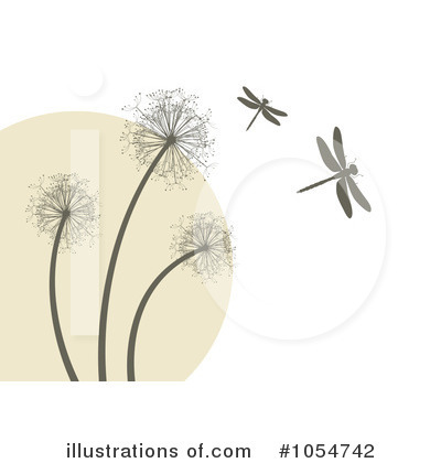 Dandelion Clipart  1054742   Illustration By Vectorace