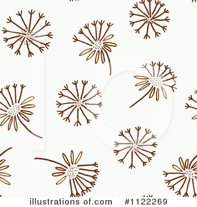Dandelion Clipart  1122269 By Cherie Reve   Royalty Free  Rf  Stock