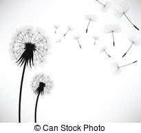 Dandelion Illustrations And Clip Art  3854 Dandelion Royalty Free