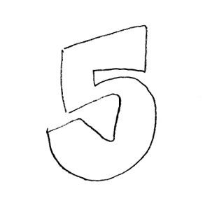 Five Clipart