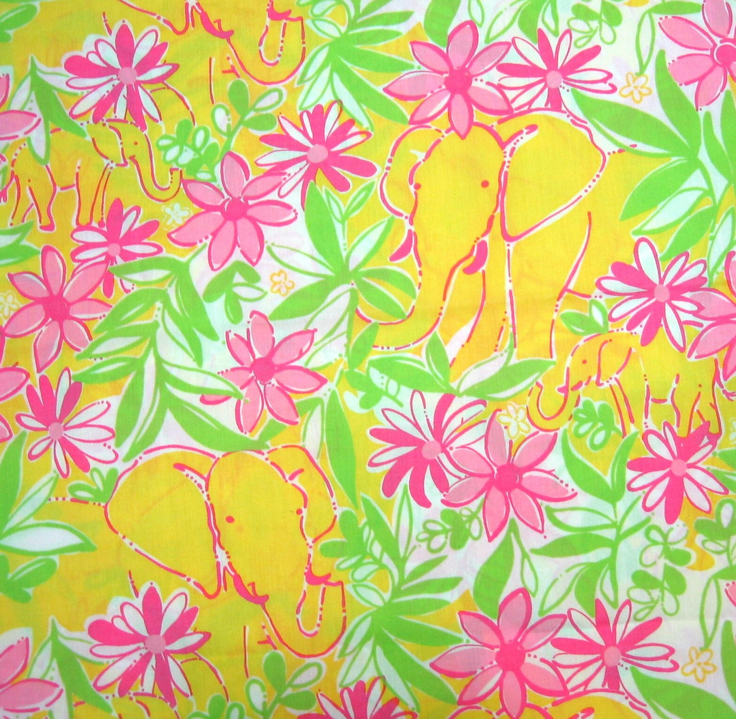 Lilly Pulitzer Backgrounds Elephant   Picture Gallery