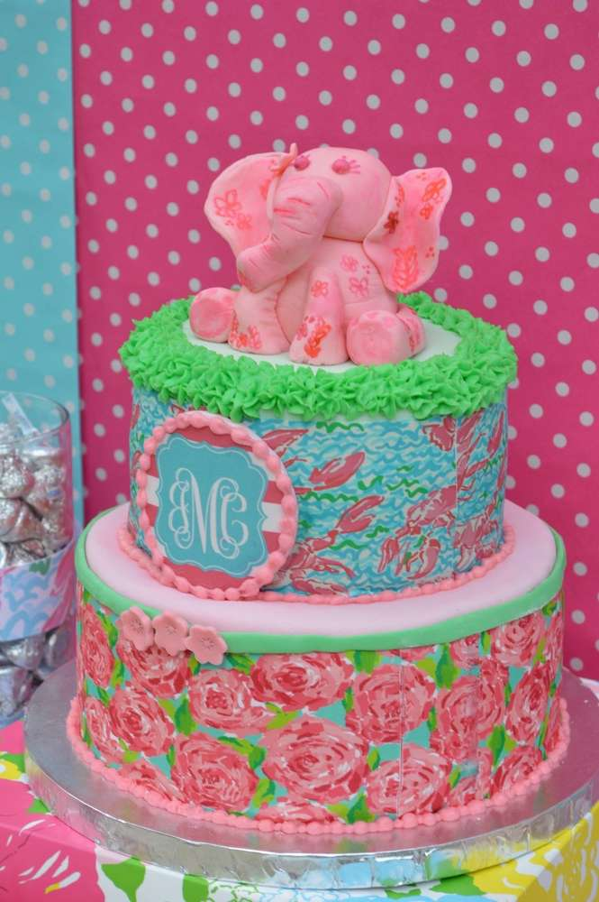 Lilly Pulitzer Birthday Party Ideas   Photo 3 Of 17   Catch My Party