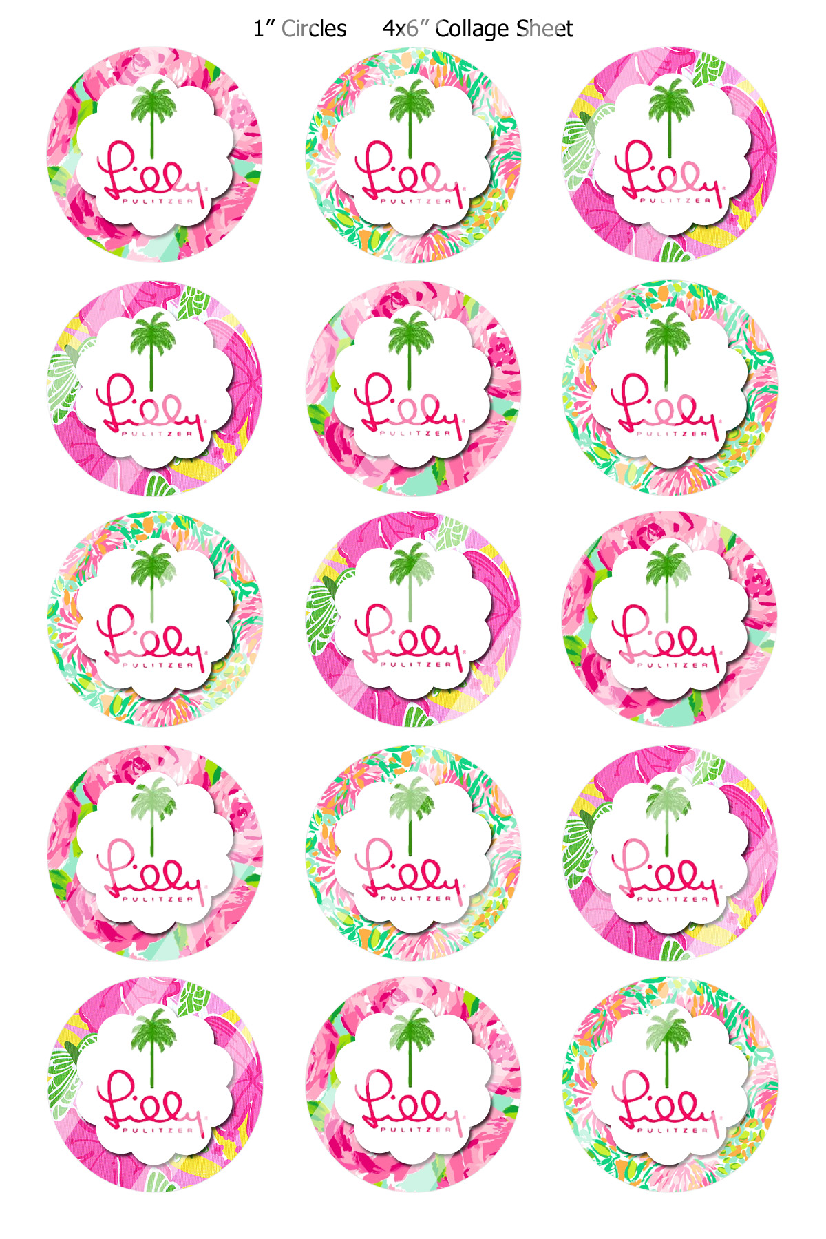 Lilly Pulitzer  R397     1 95   Bottlecap Buzz