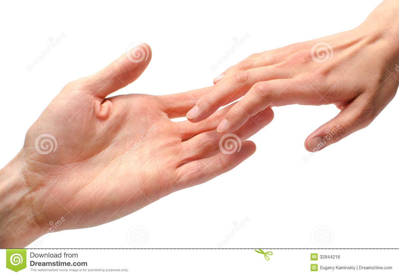Man And Woman Hands Touching Royalty Free Stock Image   Image