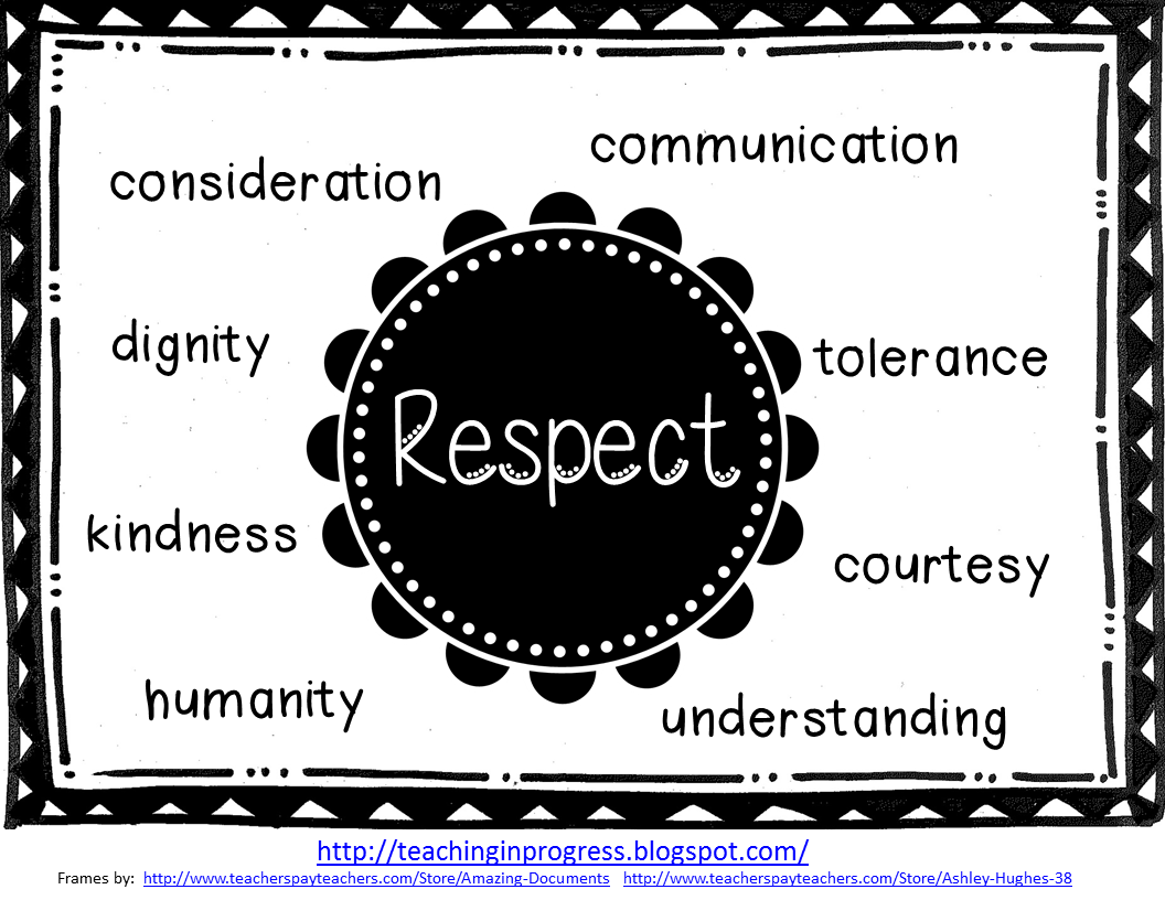 Respect School Clipart - Clipart Kid