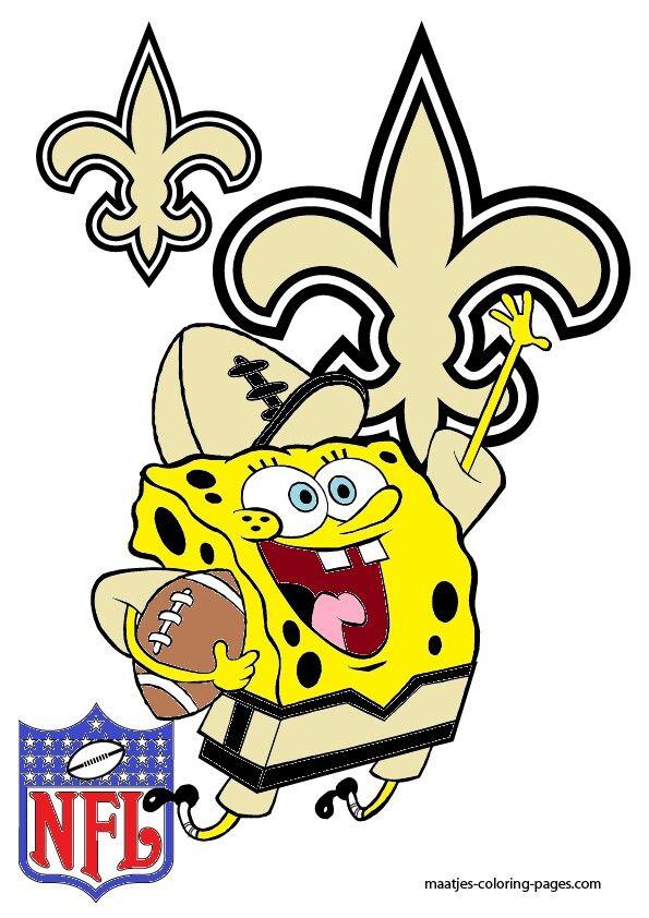 Saints Spongebob New Orleans Saints Football Pinterest #j2UI2a ...