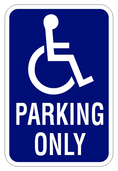 21 Disabled Parking Signs Free Cliparts That You Can Download To You