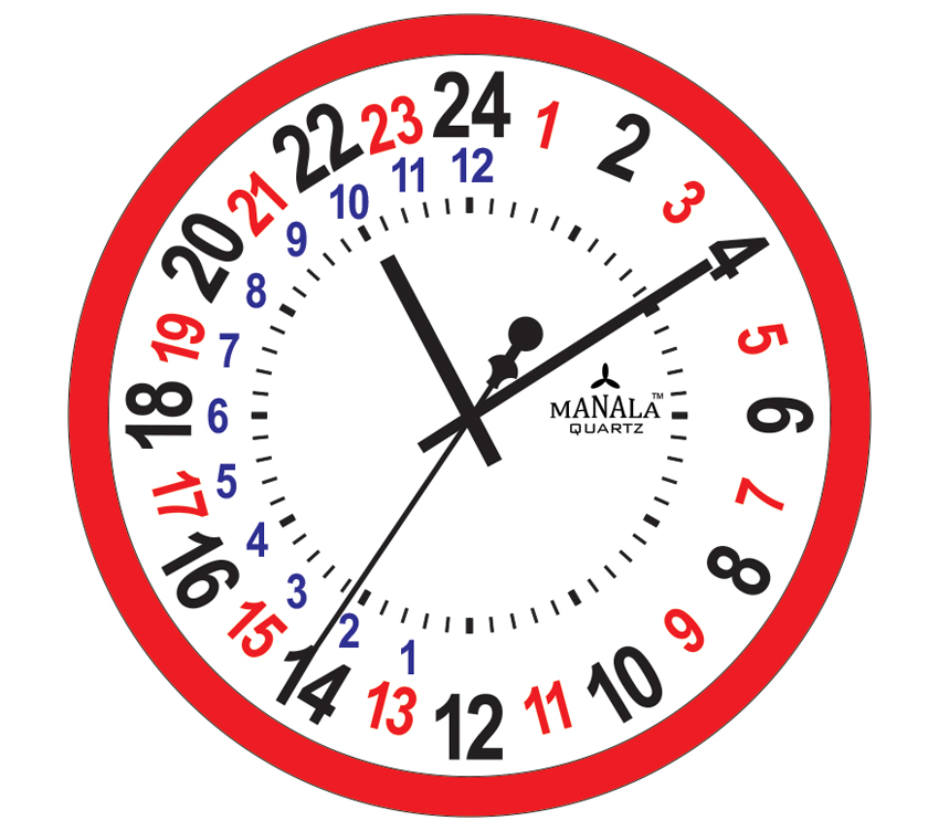 24 Hour Clock Time 24 Hour Clocks #GovJGa - Clipart Kid