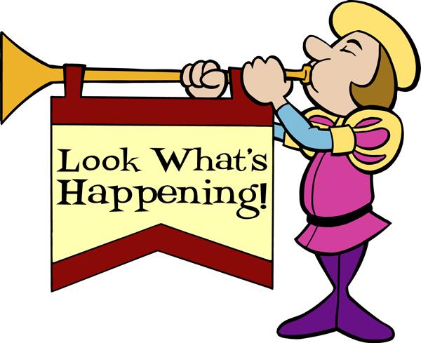 Church Announcements Clipart - Clipart Kid