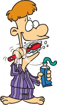 Brush Teeth Cartoon Brush Teeth Clipart Brush My Teeth Cartoon Strips