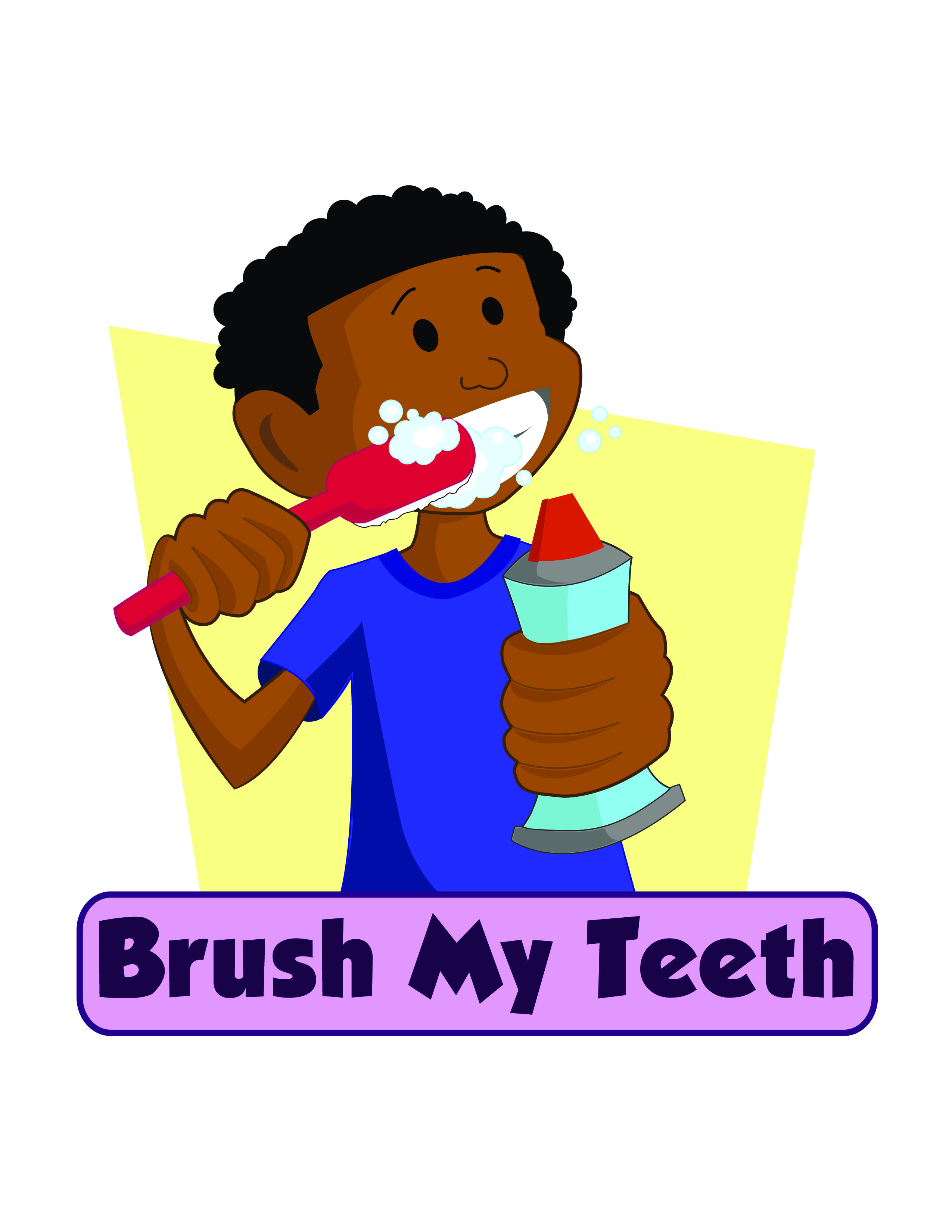 Brushing Teeth Clip Art