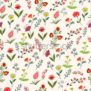 Download Source File Browse   The Arts   Seamless Flower Pattern