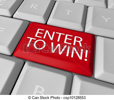 Enter To Win Contest Drawing Raffle Lottery Computer Key   Csp10128553