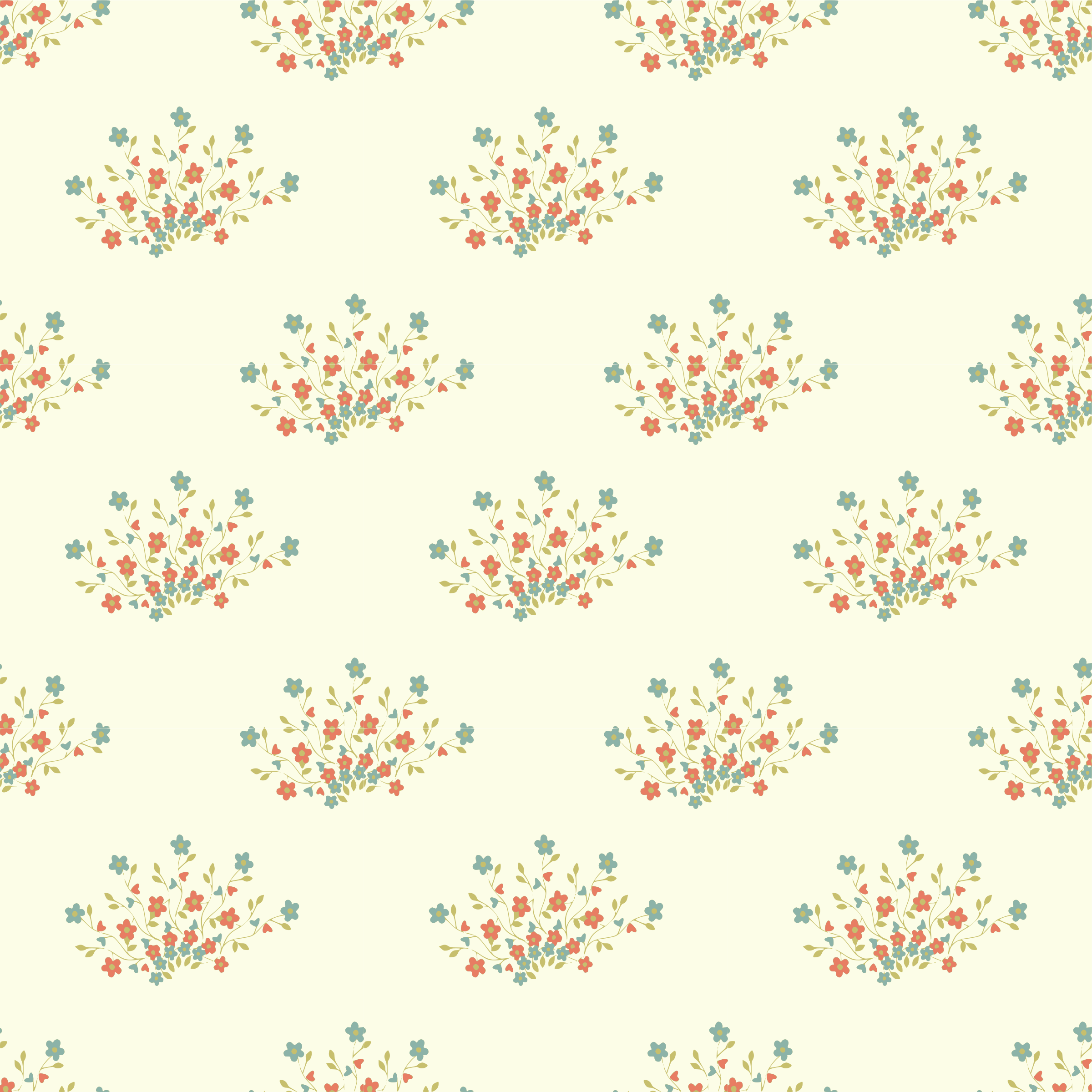Flower Seamless Pattern By Yamachem