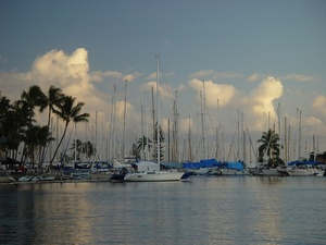 Free Boat Photo Clip Art Image   Pleasure Boats In Harbor