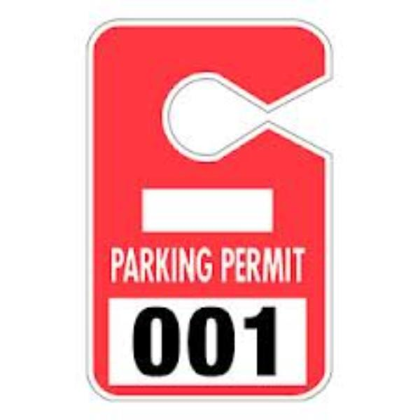 Parking Pass Clip Art Parking Permits On Sale For