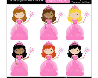 Fairy Princess Clipart - Clipart Kid