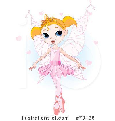 Royalty Free  Rf  Fairy Princess Clipart Illustration By Pushkin