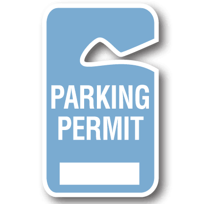 Tags   Parking Tags   Parking Permit Stock Handicapped Parking Permits