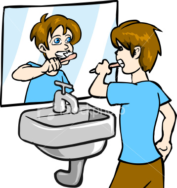 Brush My Teeth Clipart - Clipart Kid