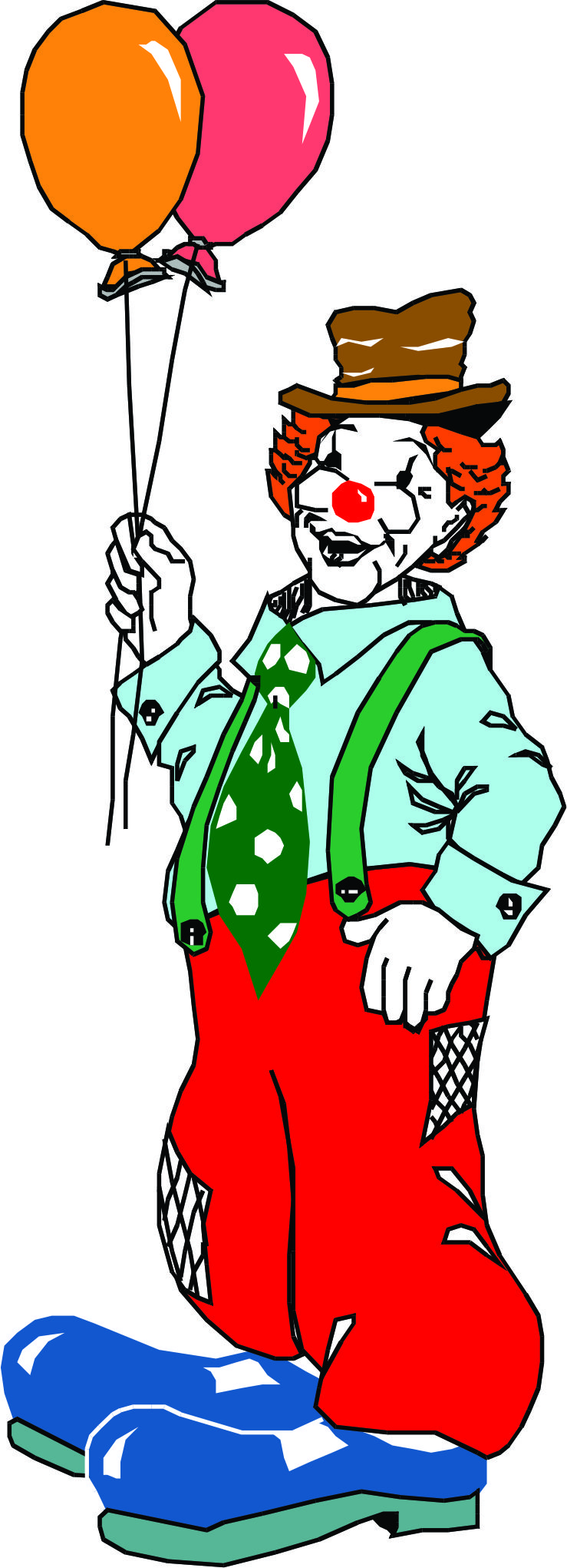 Cartoon Clowns Clipart - Clipart Kid