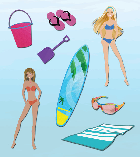 Beach Birthday Clipart Clipart Suggest