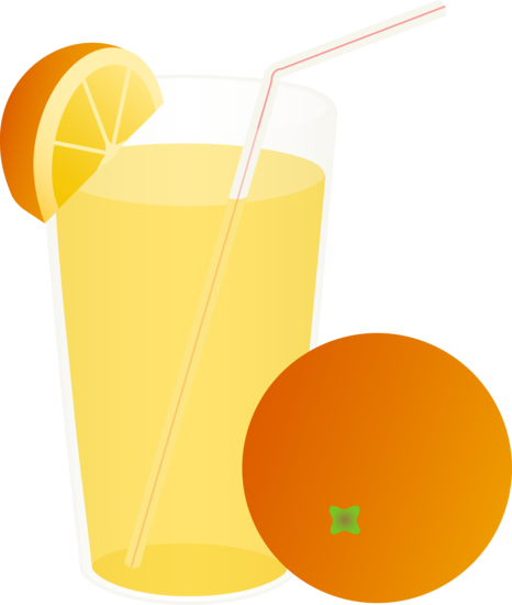 Glass Of Orange Juice With Straw Images   Pictures   Becuo