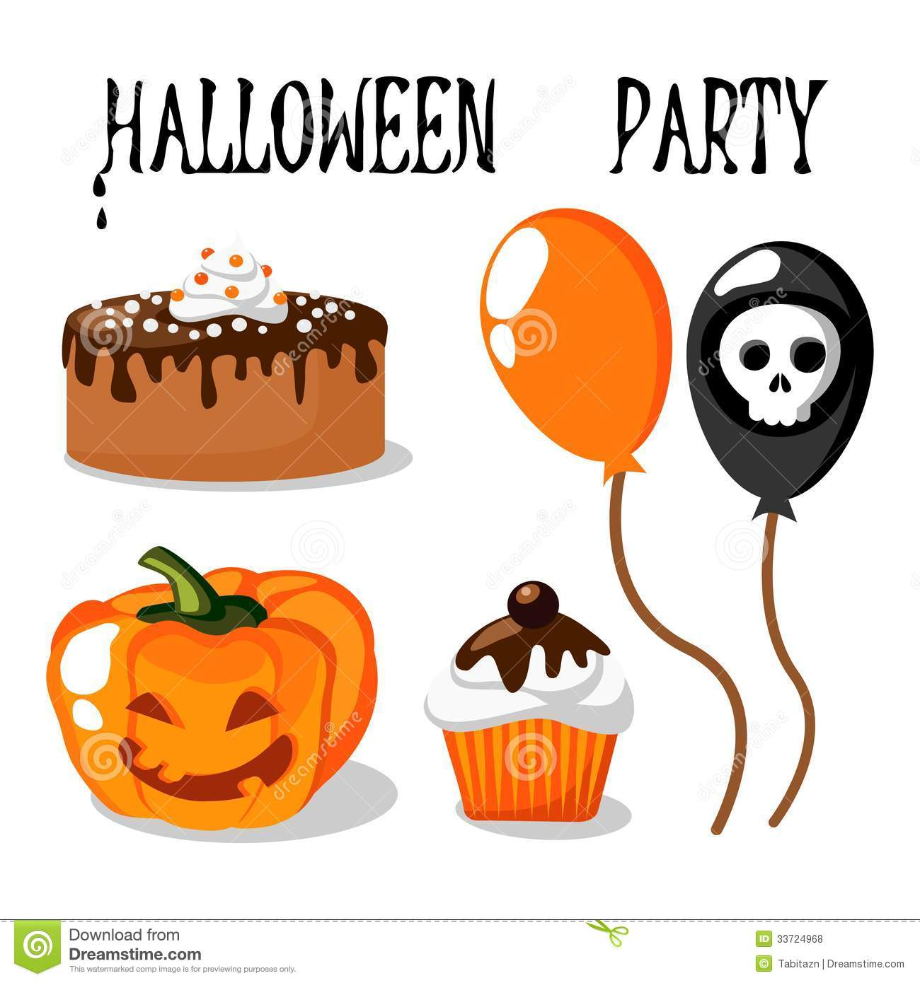 Halloween Food Clipart - Clipart Kid