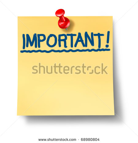 Important Message Clipart - Clipart Kid
