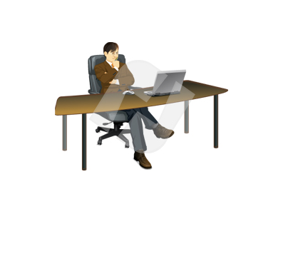 Office Manager Clipart  1
