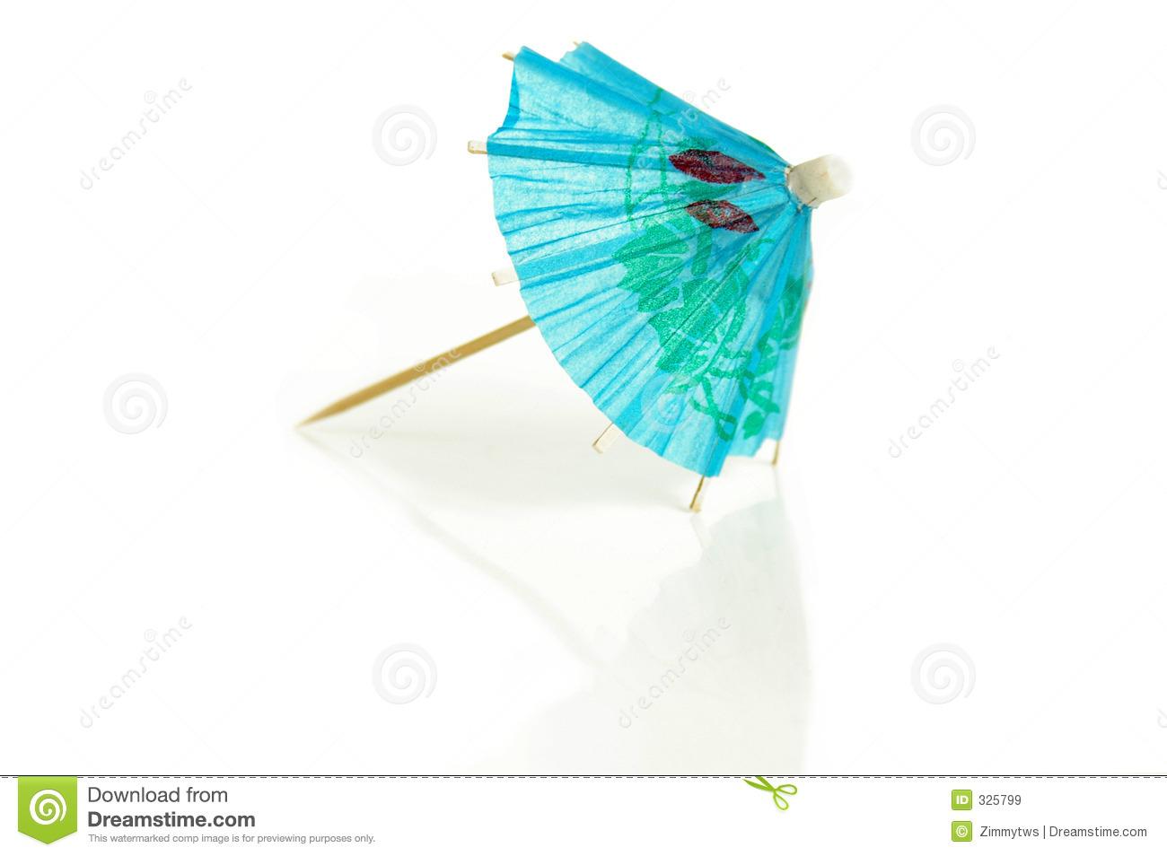 tropical drink umbrella clipart paper umbrella