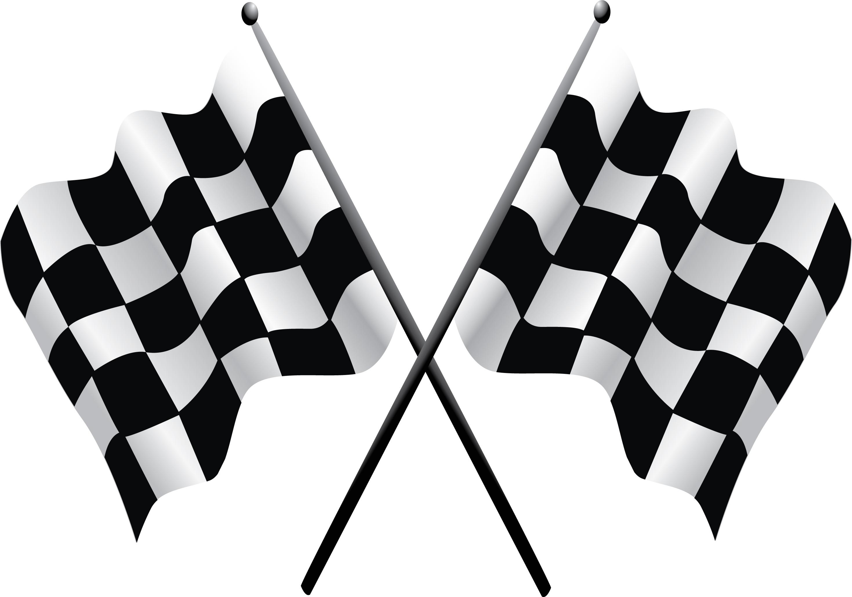 Checkered Flag Clipart - Clipart Kid