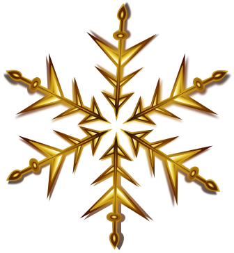 Gold christmas clipart clipart suggest for Gold streamers png