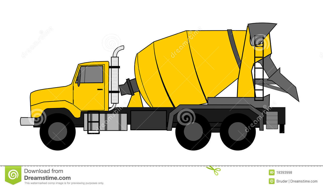 Concrete Mixing Animation : Ready mix truck clipart suggest