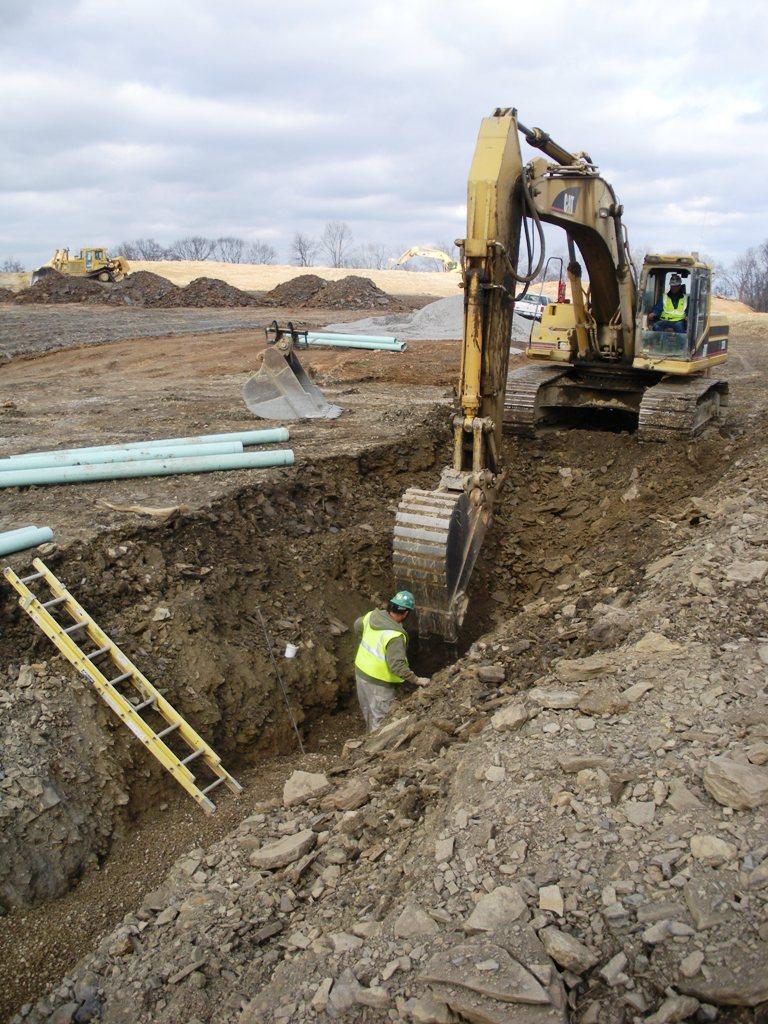 Image Gallery excavator digging