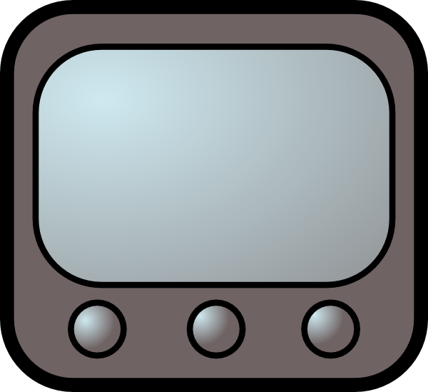 Television Set Clipart - Clipart Suggest