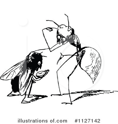 Free  Rf  Insect Clipart Illustration  1127142 By Prawny Vintage
