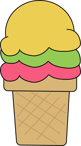 Cute Ice Cream Clipart - Clipart Kid