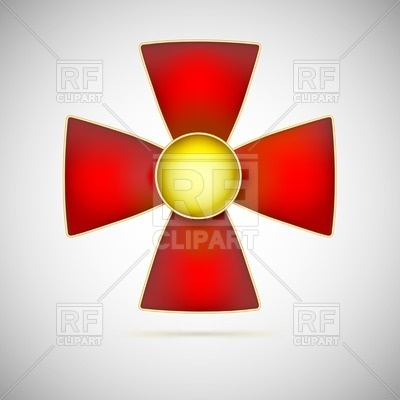 Red Cross   Military Medal Download Royalty Free Vector Clipart  Eps