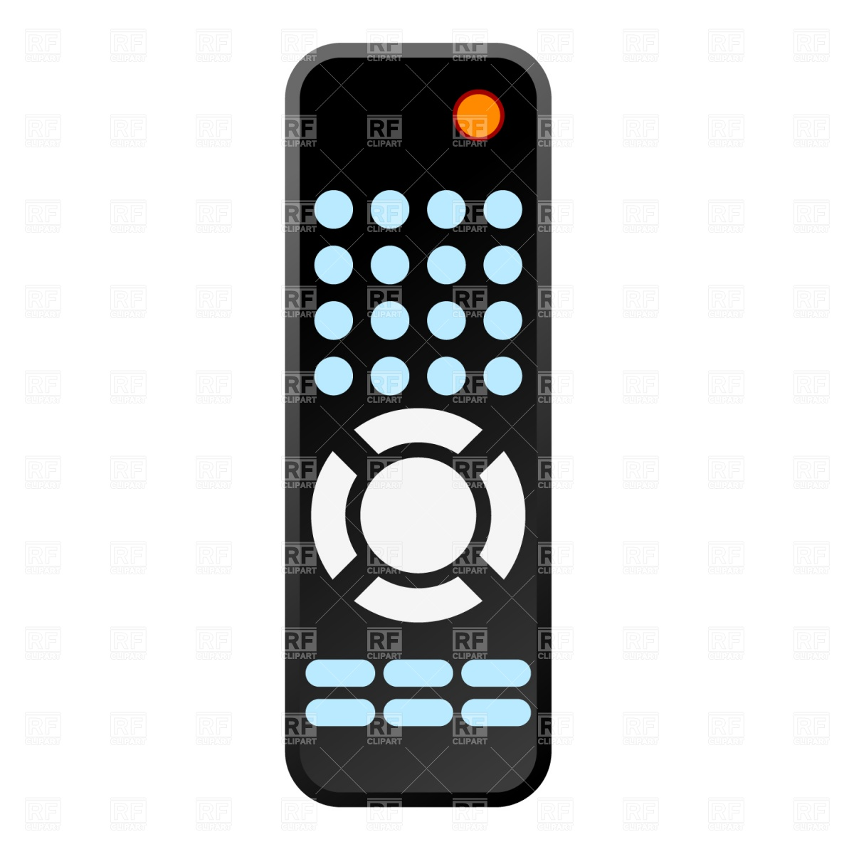 Remote Control Download Royalty Free Vector Clipart  Eps