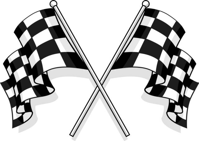 Wavy Checkered Flag   Clipart Best