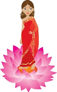 Woman Clip Art Images Hindu Woman Stock Photos   Clipart Hindu Woman