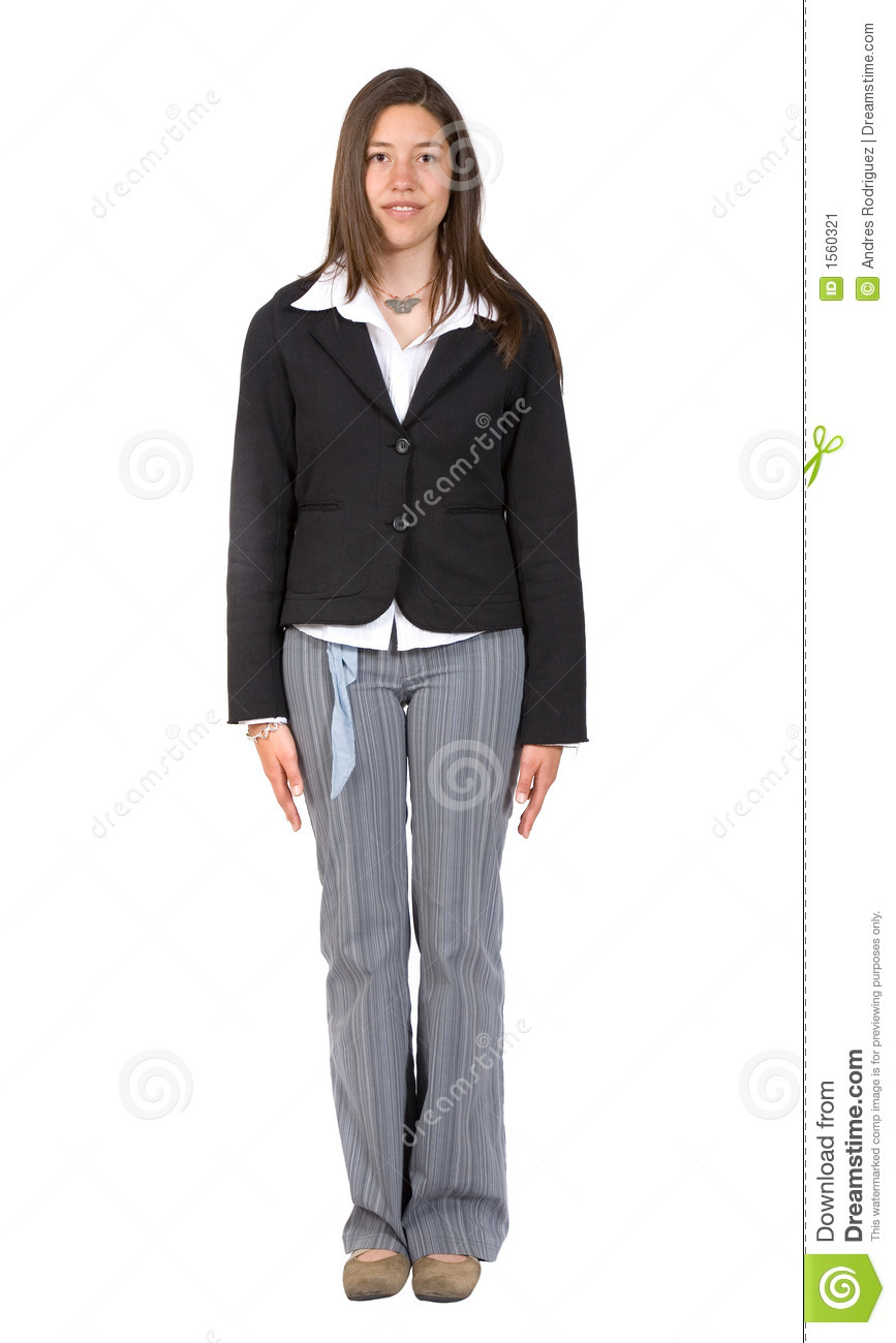 Woman Standing Clipart Business Woman Standing Still