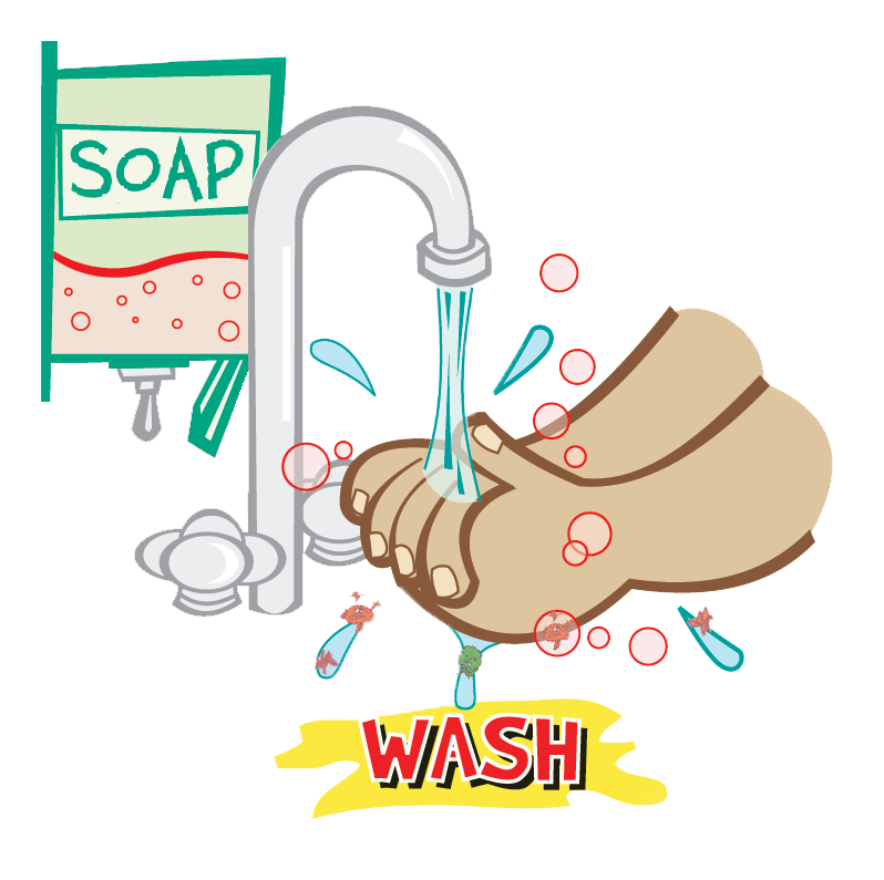 Clip Art Hand Washing Clipart washing hands clipart kid and frequency of hand hygiene at home work in the community