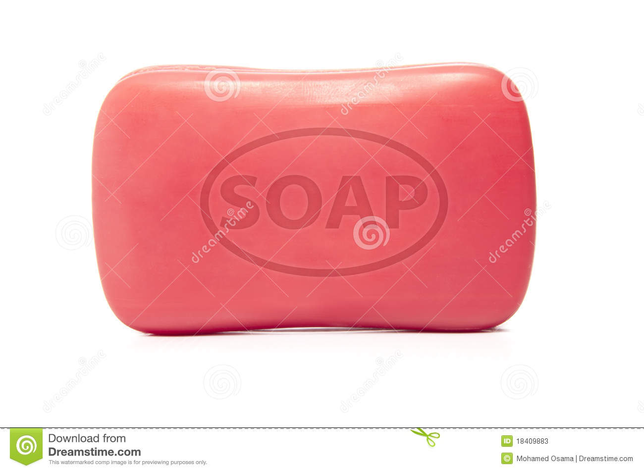 Bar Of Soap Clipart A Bar Of Soap Isolated On
