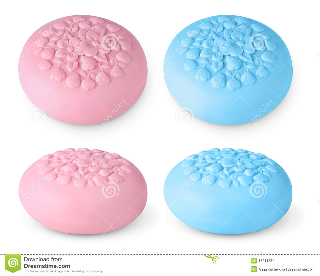 Bar Of Soap Clipart Pink And Blue Bars Of Soap