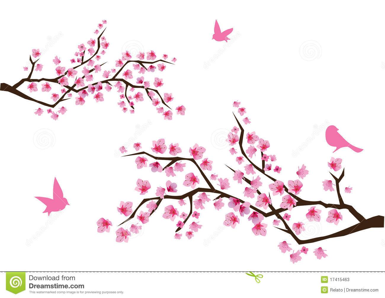 Cherry Blossom Tree Clipart - Clipart Kid