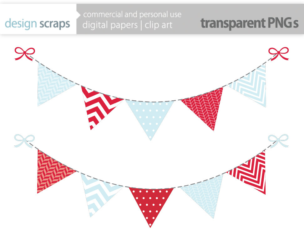 Clip Art Bunting Clipart bunting banner clipart kid christmas clip art flag by designscraps